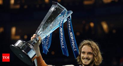 Stefanos Tsitsipas beats Dominic Thiem to win ATP Finals title
