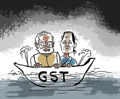 GST collections slip in July