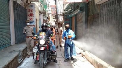 Number of Covid-19 cases in Varanasi rises to 34 after 7 cops test positive