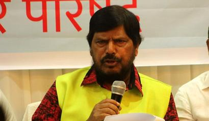 Athawale, always an enfant terrible