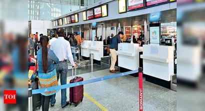 Inline bag scan for flyers at Kolkata airport