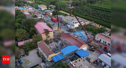 Death toll rises to 29 in north China restaurant collapse