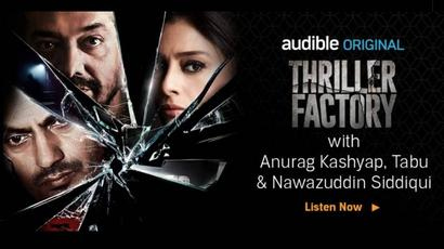 Anurag Kashyap#39;s Thriller Factory looks to set the pace for audio shows
