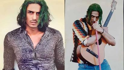 Arjun Rampal channels the Joker in 25-year-old throwback pictures from modelling...