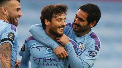 Never seen anyone like him: Guardiola lauds Silva after Newcastle win