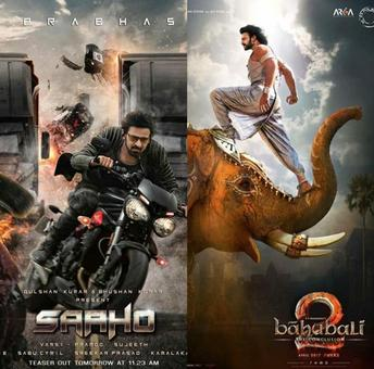 Did you know this fact about Prabhas` last two releases Baahubali 2 and Saaho?