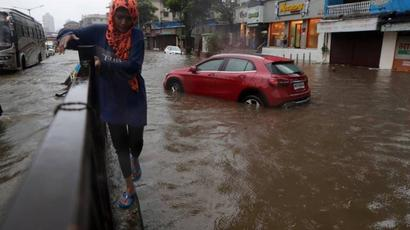 Heavy rain in parts of Mumbai, Thane, Palghar