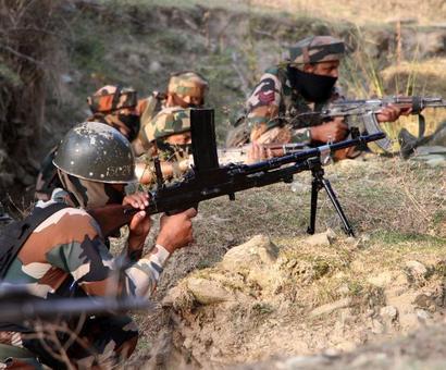 BSF officer killed in Pak sniper fire along IB in J-K