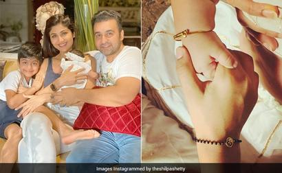 Here's What Shilpa Shared On Daughter Samisha's First Rakhi With Viaan