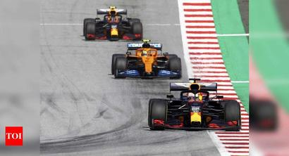 Even without a crowd, F1 is happy to be racing again