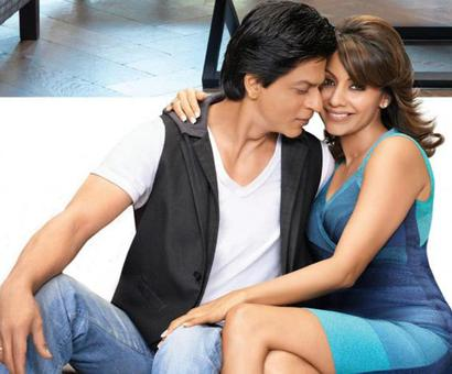 Here`s what happened when SRK asked wife Gauri Khan to refurbish his office ceiling!