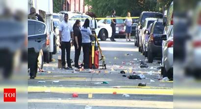 Washington DC shooting leaves 1 dead, some 20 injured