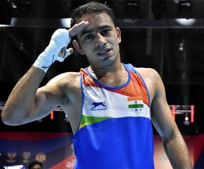 India's Amit Panghal is World No 1 boxer