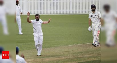 Warm-Up, Day 2: Bumrah, Shami make the ball talk; openers put up better show
