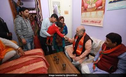 'BJP Supporters Are Like Family': Arvind Kejriwal Takes On Amit Shah