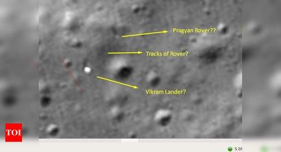 Chandrayaan-2 rover intact? Isro probes pics