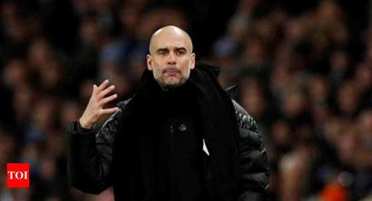 Guardiola admits Manchester City standards have slipped