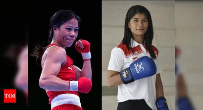 Mary Kom beats Zareen to make Indian team for Olympic qualifiers
