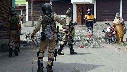 As Covid cases spike, half of Srinagar locks down