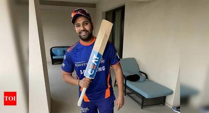 Carrying around nine bats with me, says MI captain Rohit