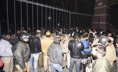 Cops Say Urged JNU Officials For Talks With Students Before Mob Attack