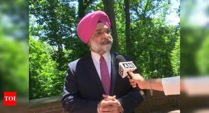Desecration of Gandhi statue 'crime against humanity': Indian Ambassador to US
