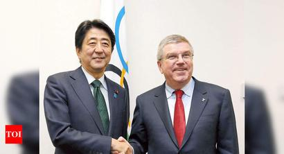 Japan PM, IOC chief to speak as Olympics hang in the balance