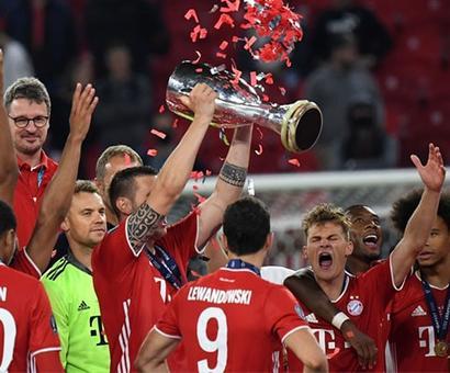 Bayern Munich Set European Record After Super Cup Win