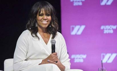 Michelle Obama Wins A Grammy. Barack Obama Had Won In Same Category