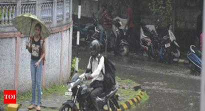 Parts of Mumbai witnesses significant rains | Mumbai News - Times of India