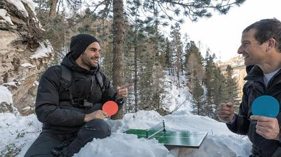 Roger Federer to eat fish eyeballs and drop down into a gorge in upcoming reality...