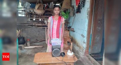 T'gana girl invents machine to scare away locusts