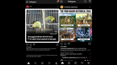 Instagram Spotted Testing Dedicated Reels Button on App Homepage