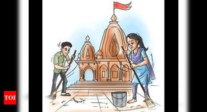 Ahd: Eloped couple survives on temple alms