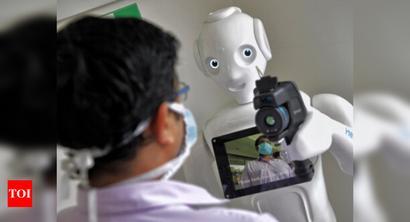 K'taka set to deploy robots at Covid care units