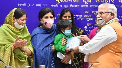 Khattar govt to distribute free sanitary napkins to 23 lakh women every month