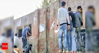 Haryana Board exams: Toothless flying squad, helpless staff fail to stem cheating rot