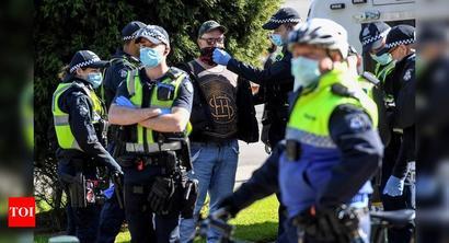 Australia's Victoria sees Covid-19 cases drop, still mulling curbs
