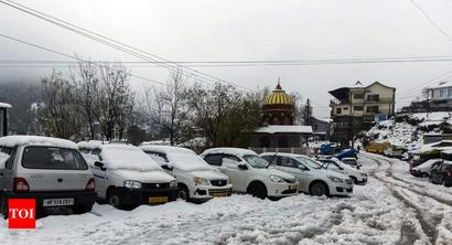 Snowfall in north India; cold conditions to prevail