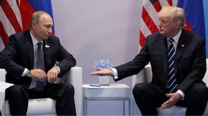 Russian President Vladimir Putin, Syria#39;s Bashar al-Assad seen mocking Donald Trump in video: Report