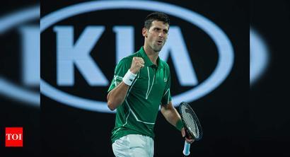 Australian Open: Djokovic digs deep to beat Struff in opener