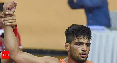 Sajan becomes first Indian to win back-to-back medals at World Junior Wrestling