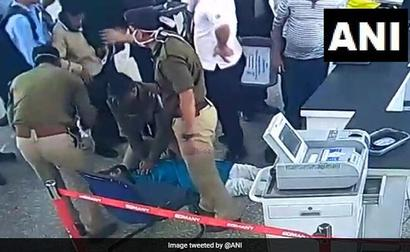 Passenger Collapses At Kolkata Airport, Saved By 2 Security Officials