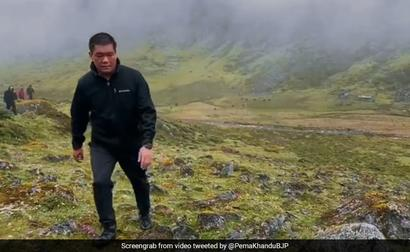 Arunachal Chief Minister Treks For 11 Hours To Meet Village Residents