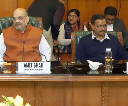 Ahead of civic polls, BJP, AAP at loggerheads again