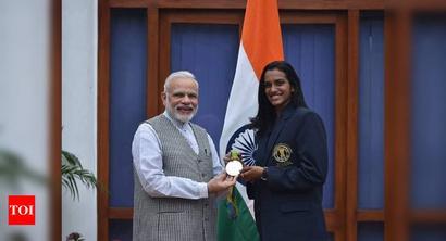PV Sindhu extends Raksha Bandhan greetings to PM Narendra Modi