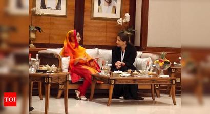 Gulfood 2020: Harsimrat Badal meets UAE minister