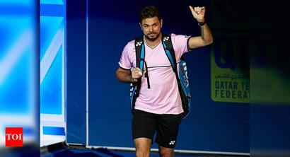 Qatar Open: Wawrinka beaten by Moutet in semi-finals