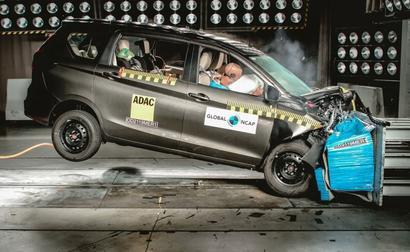 Maruti Suzuki Ertiga Crash Test Results, Rating 2019: 3 Stars Global NCAP