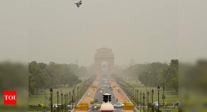Delhi air satisfactory, rise in temp to follow
